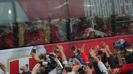 Alegría y optimismo se vivieron en la despedida de la Selección Peruana rumbo a Rusia