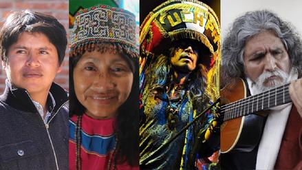 Protección de lenguas originarias: cuatro artistas comparten sus experiencias