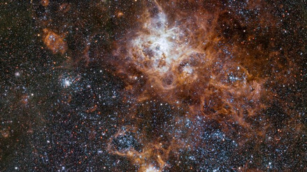 Astrónomos captan la imagen más detallada de la nebulosa de la Tarántula