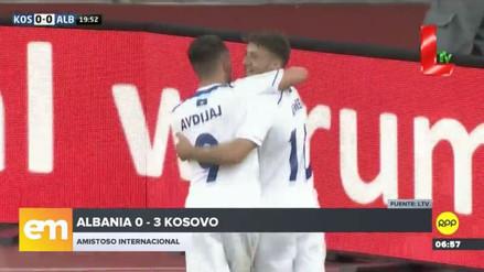 Kosovo logró una histórica victoria 3-0 frente a Albania