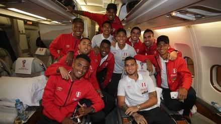 Selección Peruana se despidió del país para iniciar su aventura en Rusia 2018
