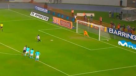Rinaldo Cruzado demostró su categoría en el primer gol de Alianza Lima ante Cristal