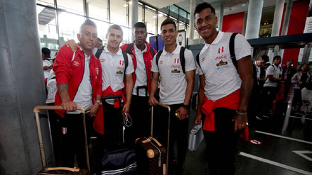 La Selección Peruana llegó a su hotel en Austria y aguardan por Paolo Guerrero