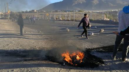 Arequipa paralizada por protestas contra el alza del precio de los combustibles