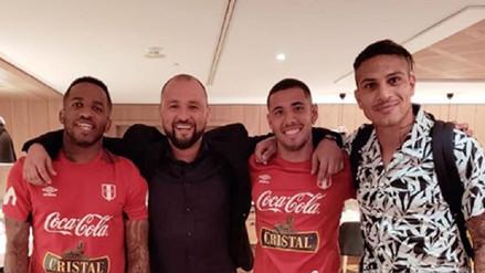 Así fue el reencuentro entre Paolo Guerrero y el plantel de la Selección Peruana