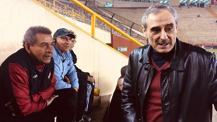 Ángel Cappa llegó al Monumental para ver jugar a Universitario
