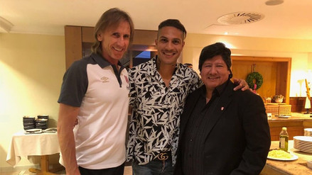 Paolo Guerrero se sumó a la concentración de la Selección Peruana