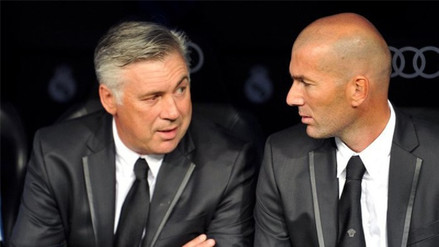 Carlo Ancelotti le envío un mensaje a Zidane tras dejar de ser DT del Real Madrid
