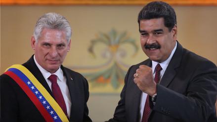 Díaz-Canel a Maduro en Caracas: