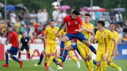 Chile cayó 2-3 ante Rumanía en un amistoso jugado en Austria