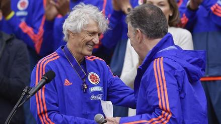 """Juan Manuel Santos: """"Apostar por Pékerman fue tan impopular como iniciar el proceso de paz"""""""