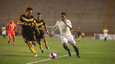 Universitario empató ante Cantolao y sigue sin ganar en el Torneo Apertura