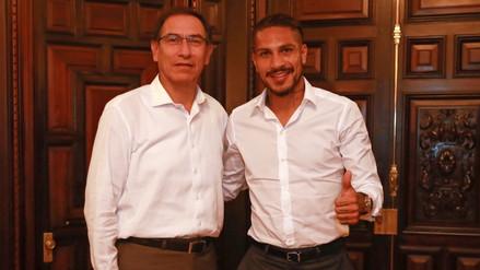 Vizcarra reveló que Paolo Guerrero lo llamó tras conocer su habilitación para jugar el Mundial
