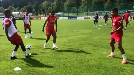 La Selección Peruana entrenó en Austria con Paolo Guerrero como principal novedad