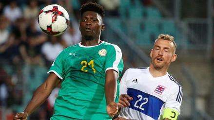 Senegal no pasó del empate ante la débil Luxemburgo