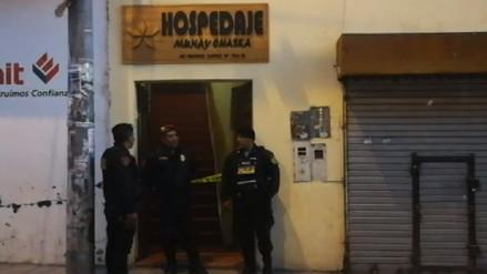 Cusco: una mujer fue asesinada en la habitación de un hospedaje