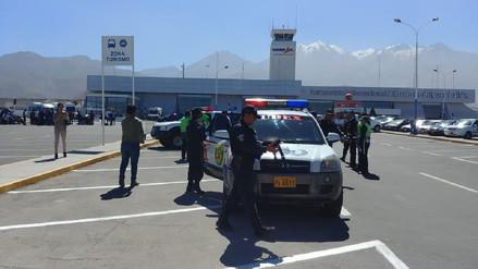 Encuentran una granada en el aeropuerto de Arequipa