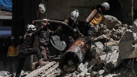 Más de 7.700 civiles murieron por los bombardeos rusos en Siria desde 2015