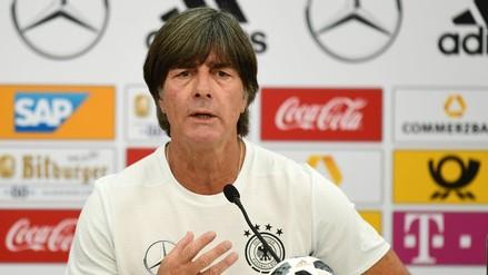 Joachim Löw, entrenador de Alemania, descartó llegar al Real Madrid