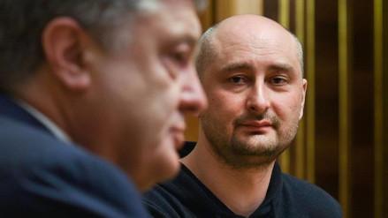 El 'asesinato' de Arkadi Bábchenko se simuló con sangre de cerdo y maquillaje