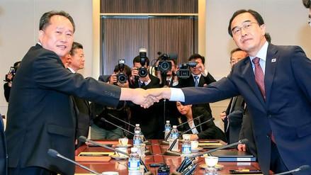 Las dos Coreas acordaron celebrar conversaciones militares el 14 de junio