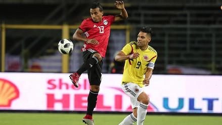 Colombia empató sin goles ante una Egipto que busca renacer sin Mohamed Salah