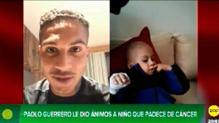 Paolo Guerrero envió un mensaje de ánimo a niño con cáncer desde Austria