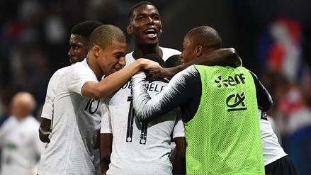 Mira los goles de la victoria de Francia por 3-1 sobre Italia