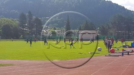 La Selección Peruana realizó su segundo entrenamiento en Austria