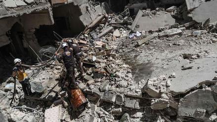 Al menos 20 civiles murieron en dos bombardeos de la coalición internacional en Siria