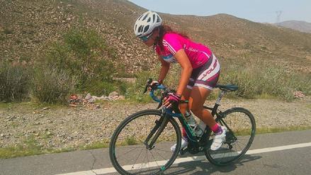 Ciclista trujillana destaca en Suramericanos pese a sufrir accidente