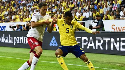 Suecia y Dinamarca empataron sin goles en amistoso de preparación a Rusia 2018