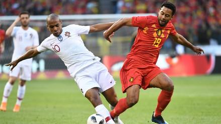 Bélgica no pudo derrotar en Bruselas a un Portugal sin Cristiano Ronaldo