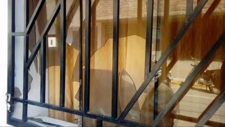 Arrojan explosivo a vivienda de exalcalde en Chiclayo