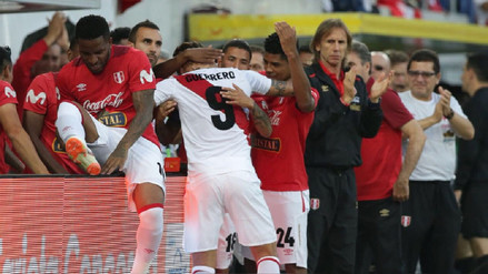 Los dos goles de Paolo Guerrero en su regreso a la Selección Peruana