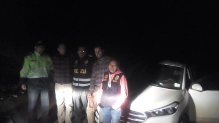 Arequipa: Policía halló a dos turistas que se extraviaron en la Reserva Aguada Blanca