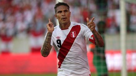 Paolo Guerrero marcó un gol en su regreso a la Selección Peruana