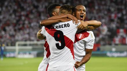 Mira los tantos de la goleada de la Selección Peruana ante Arabia Saudita