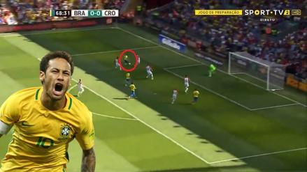 Regresó el Rey: Neymar anotó un golazo en su reaparición con Brasil