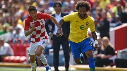 Brasil derrotó 2-0 a Croacia en el regreso de Neymar a los terrenos de juego