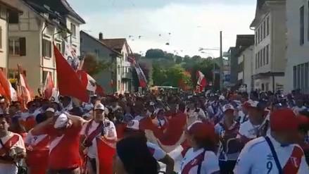 Perú nuevamente jugó de local en el extranjero