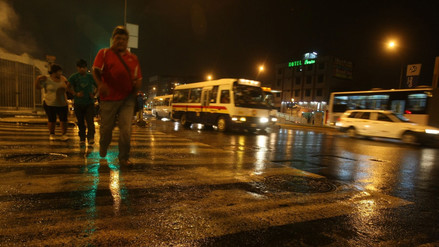 Inusual lluvia de otoño sorprendió a varios distritos de Lima