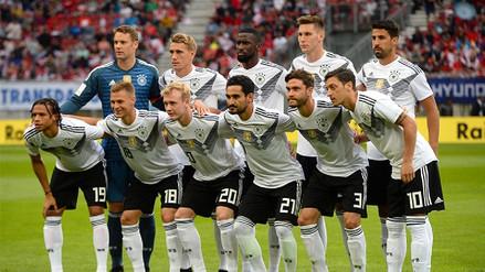 Selección de Alemania presentó lista para Rusia 2018 con la ausencia de Leroy Sané