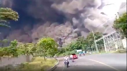 Los impresionantes videos de la erupción del Volcán de Fuego en Guatemala