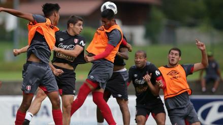 Selección Peruana tuvo su primera sesión de entrenamiento pensando en Suecia