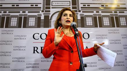 Comisión de Ética pide suspender por 120 días a Maritza García por trucar su hoja de vida