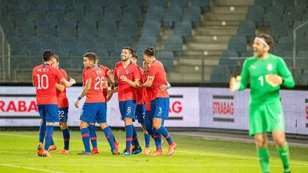 Chile venció 1-0 a Serbia a pocos días del inicio de Rusia 2018