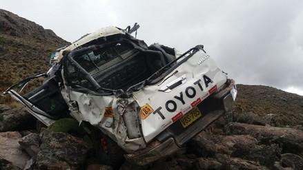 Un muerto tras despiste de camioneta en Arequipa