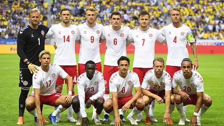 Dinamarca anunció su lista de 23 jugadores para Rusia 2018