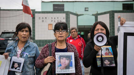 La larga lucha de las familias por sus desaparecidas